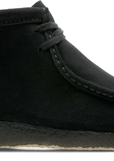 Clarks M Wallabe Boot Clarks BLACK SUEDE